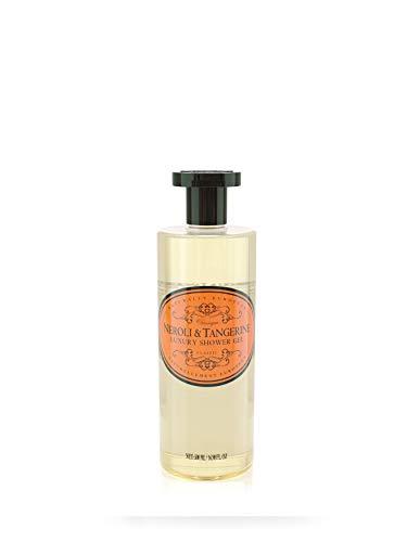 Naturally European Luxury Neroli & Tangerine Organic Body Wash - 500ml | No SLS and Parabens | Cleansing and Moisturising Lotion Shower & Bath Gel | For Men and Women