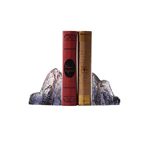 Sujetalibros Estanteria Librería Antideslizante Decorative Book Fin y Metal Sofombra Adecuado para oficinas de Libros Pesados Escuelas Escuelas Casas de Escritorio Durable
