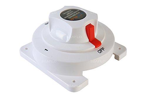 SEAFLO Interruptor selector de batería dual