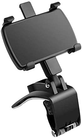 1autotelefoonhouder met verstelbare clip universele autodashboard telefoonhouder mobiele telefoonhouder geschikt voor mobiele telefoons van 465 inch