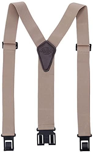 Dickies Men's Perry Suspender, Beige, One Size