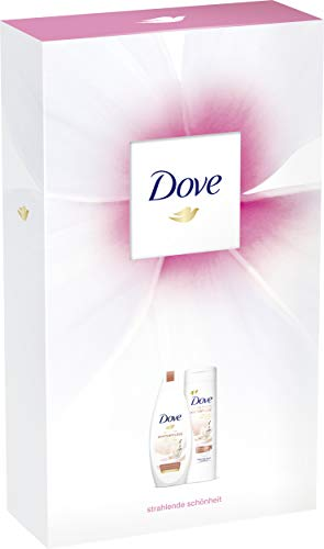 Dove Geschenkset, ideal zum Verschenken Winterpflege (Cremedusche 250 ml + Body Lotion 250ml), 1er Pack
