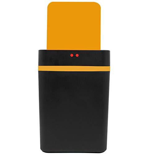 GQPLI Automatischer Sensorbehälter Smart Mülleimer, 12 L Smart Mülleimer Infrarot Bewegungssensor Mülleimer Mülleimer Mülleimer Küche Mülleimer Mülleimer