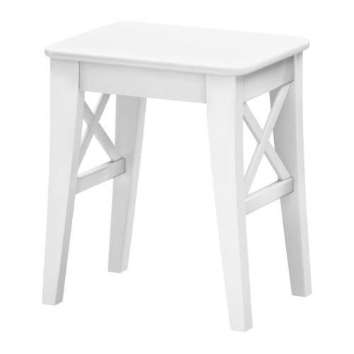 IKEA INGOLF -Hocker weiß