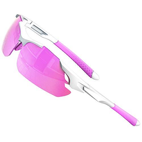 ATTCL Gafas de sol para hombre - Gafas de sol polarizadas deportivas mejoradas para mujer, ciclismo, conducción, pesca, protección UV