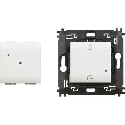 Bticino N4500C Livinglight Gateway Entra Esci, Bianco