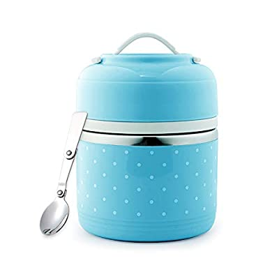 ArderLive Insulated Food Jar,34 oz Lunch Thermo...