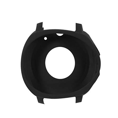 UKCOCO Protetor de tela compatível com Samsung Gear Sport, capa de silicone smartwatch para Samsung Gear Sport (Preto)