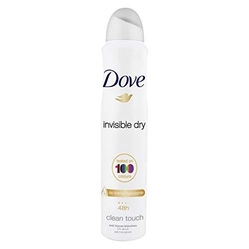 Dove Invisible Dry 48h Clean Touch 200ml (lot de 4)