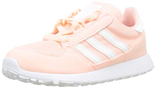 Adidas Forest Grove C, Zapatillas de Gimnasia Unisex Niños, Naranja (Clear Orange/FTWR White/Clear Orange Clear Orange/FTWR White/Clear Orange), 34 EU