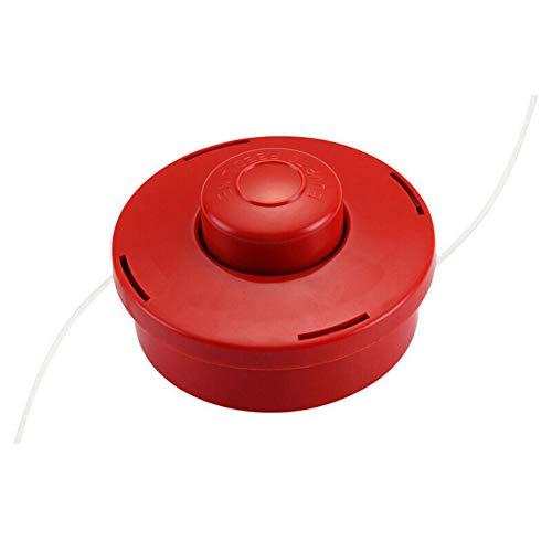 Aemiy - Cabezal de desbrozadora de gasolina universal, cabezal de repuesto para cortacésped