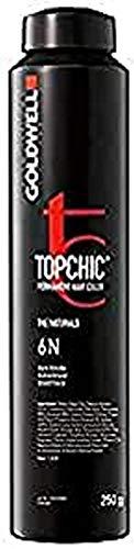 Goldwell Topchic 6A dunkel-aschblond, 1er Pack, (1x 250 ml)