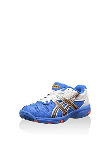 ASICS Sneaker Gel-Blast 5 Gs blau/weiß/orange EU 33