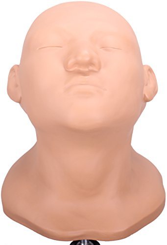 Lian's New design Professional Double-face Make-up & Face Painting Practice Mannequin Head