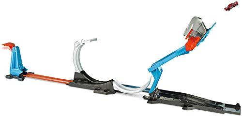 Hot Wheels Track Builder, Cohete de inicio Challenge, accesorios para pistas de coches (Mattel FLK60)