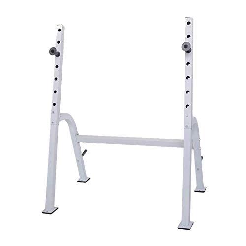 DSHUJC Kommerzielles Squat Rack Professionelles Gewichtheber-Rack Einstellbare Langhantel-Rack-Krafttrainingsgeräte Heimfitnessgeräte