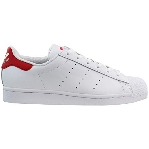 adidas Originals Youth Boys Stan Smith J Sneakers/Shoes FX3912 White/Red Size 4
