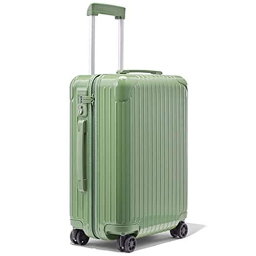 Maletas de viaje para mujer con ruedas, 20 'Cabin Suitcase Carry-Ons Rolling Hand Luggage Box Trolley Case 20 22' 24, color 1, 22 pulgadas,