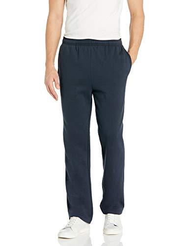 Amazon Essentials Men's Fleece Sweatpants, Navy, Medium