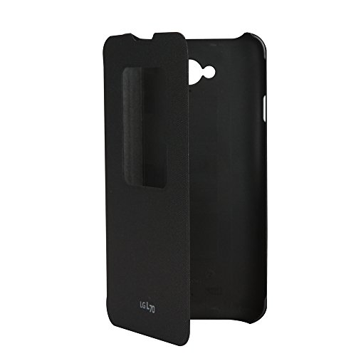 LG L70 Quick Window Flip Cover schwarz