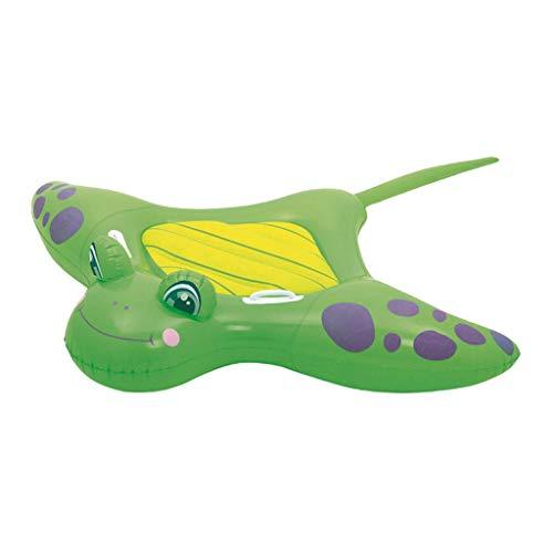 Yowablo Kinderwasserhalterungen Adult Water Toys Aufblasbarer, verdickter Safety Skate (150x114cm,Grün)