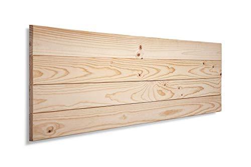 Sueñozzz – Cabecero para cama fabricado en madera 110 x 45 cm