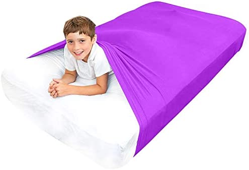 Special Supplies Sensory Bed Sheet for Kids Compression Alternative to Weighted Blankets Breathable product image