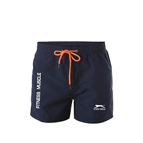 Pantalones cortos de deporte para hombre, con ropa interior Q XL