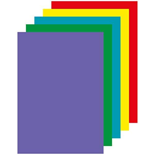 Apli 015286 500 Papiers Couleur, 210 x 297mm, Vives Assorties