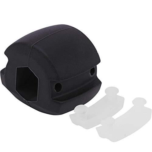 Ejercitador de línea de mandíbula Pelota ejercicios, Gel sílice Poliuretano No tóxico Ejercitador músculos de mandíbula facial Ejercitador de contorno de mandíbula Bola de fitness de barbilla(Negro)