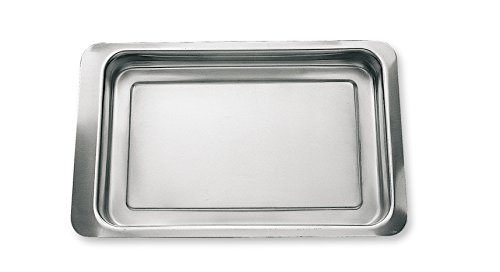 Supreminox Bar Snack Warming Tray, in Acciaio Inox, Argento, 27 x 17 x 30 cm