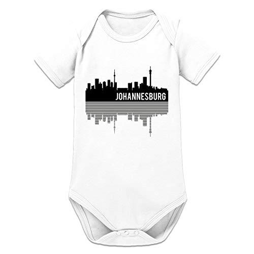 Shirtcity Johannesburg Mirrored Skyline Baby Strampler by