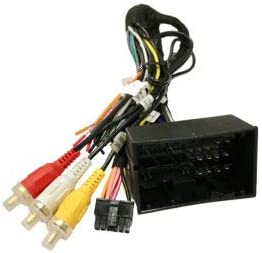 Carxtc Car Radio Electronic Wire Harness and Integrated Steering Wheel Control for Installing an Aftermarket Stereo, Fits Ram (Maintains Warning Chimes)