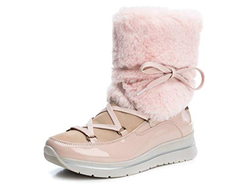 REFRESH Damen 69346 Kurzschaft Stiefel, Pink (Nude Nude), 41 EU