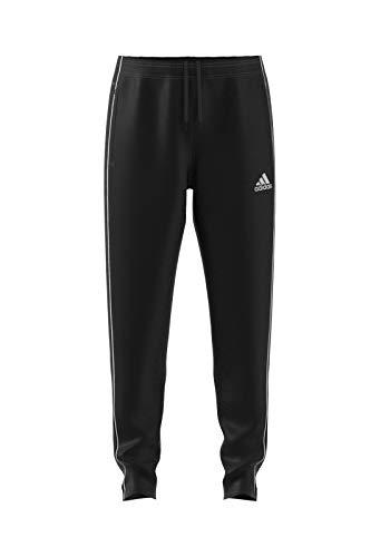 adidas Core 18 TP, Pantaloni da Allenamento Uomo, Nero (Black/White), 2XL