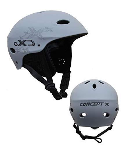 Concept X Helm Kiten Surfen Wakeboard Kajak GRAU (M)