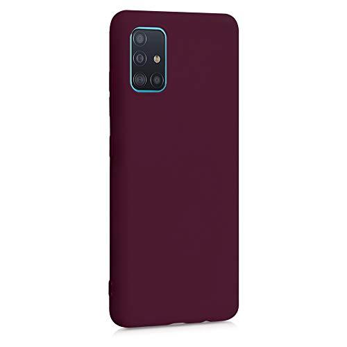 kwmobile Hülle für Samsung Galaxy A51 - Hülle Handyhülle - Handy Hülle in Bordeaux Violett