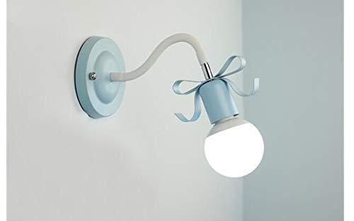 Luminaires Murale Lampe Applique Murale Spots Muraux Luminaires Muraux Led Princess Child Room Butterfly Knot Lampe De Chevet Murale Corridor Led