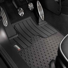 Véritable tapis de sol avant pour Mini Cooper toutes saisons avec logo Cooper S (compatible avec Mini Coupé 2012 et Mini Roadsters 2012)