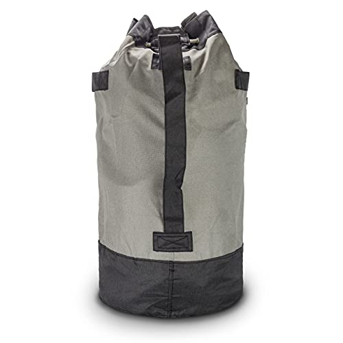 Brookstone BKH1281, Laundry Duffle Backpack/Gray