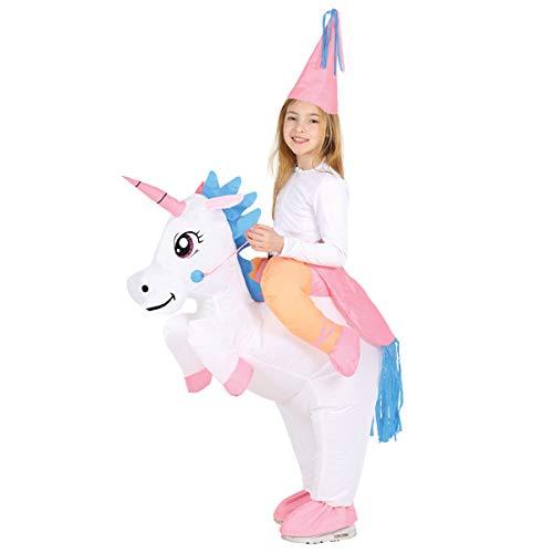 Costume unicorno gonfiabile bambino 7 9 anni