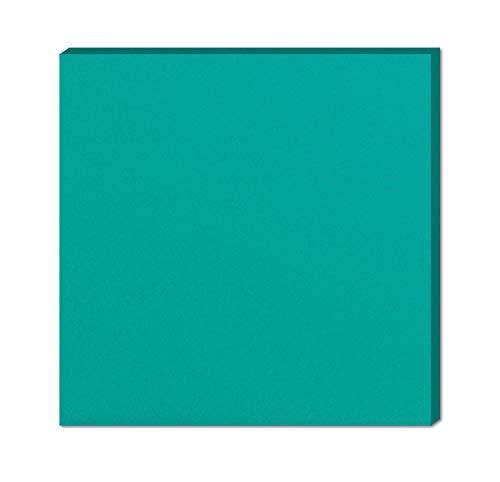 Stil.Zeit Farbmuster Möbel Fronten und Korpusse/Maß:10x20x1,5cm / Farbe Lagunenblau