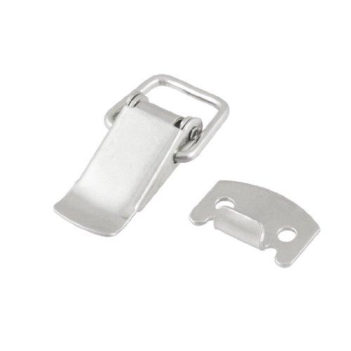Sourcingmap a12101500ux1043 - Hardware resorte de acero inoxidable de palanca cargado cerrojo capturas pestillo para cofres casos