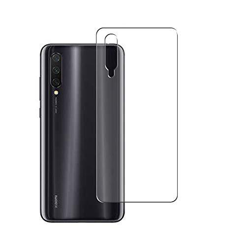 Vaxson 2 Unidades Protector de pantalla Posterior, compatible con Xiaomi Mi 9 Lite [No Vidrio Templado] TPU Película Protectora Espalda Skin Cover