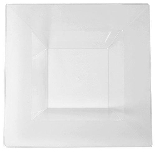 Solid Squares 1605-CL Quadratische Schale, 150 ml, transparent
