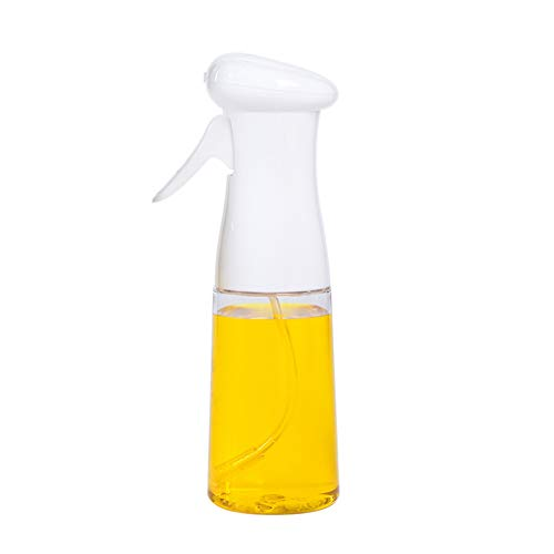 wanzhaofeng Aceite de Oliva Vinagre pulverizador Barbacoa Dispensador cocinan la Barbacoa Asar Aceite en Aerosol Botella, Blanca