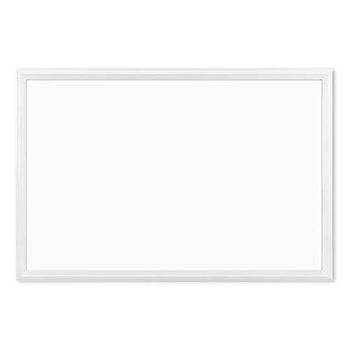 U Brands Magnetic Dry Erase Board, 20 x 30 Inches, White Wood Frame (2071U00-01)