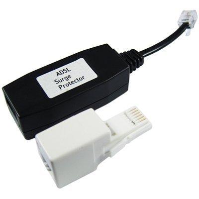 World of Data ADSL/Breitband-Modem/Router Surge/Blitzschutz mit Adapter