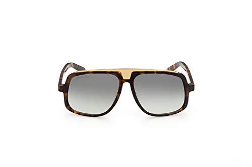 DSQUARED2 Gafas de sol DQ0363 52P Gafas de sol Hombre color Verde havana tamaño de la lente 59 mm
