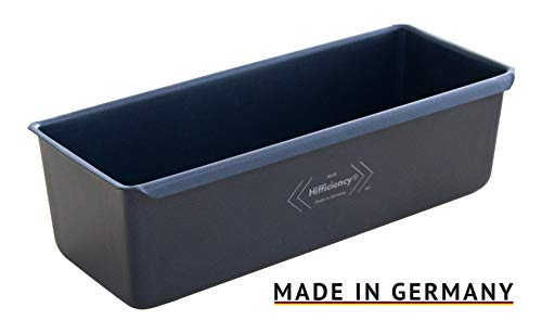 HIFFICIENCY Professional Kastenform, Brot- & Backform 24 x 10 x 8,5cm